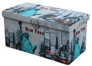 MOLY XL pufa wielobarwny - NEW YORK